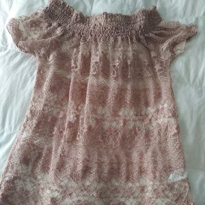 Charlotte Russe Pink Blouse